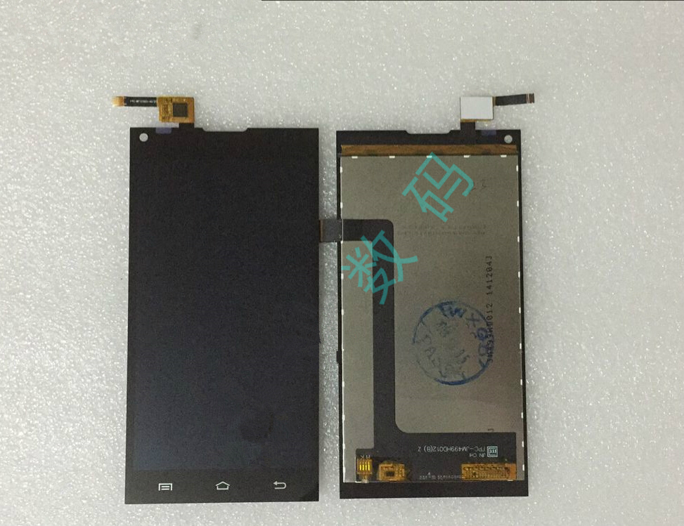 ФОТО Original new FPC-JM499HD012(B)Z / FPC-BFTC5051-A0 lcd touch assembly for Gumi T50