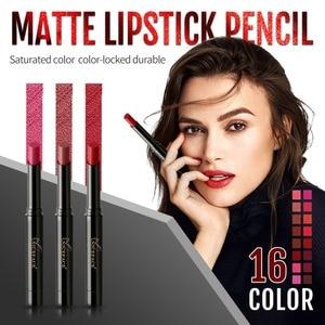 Matte Lipstick For Lips Waterproof Long Lasting Nourishing Lipstick Tint Nude Cosmetics Lipstic Set#(China)