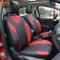 AutoDecorun Искусственная кожа чехлы на сиденья пользовательские подходят для Audi Q5 сиденья аксессуары Стайлинг Авто мест поддерживает наволочк
