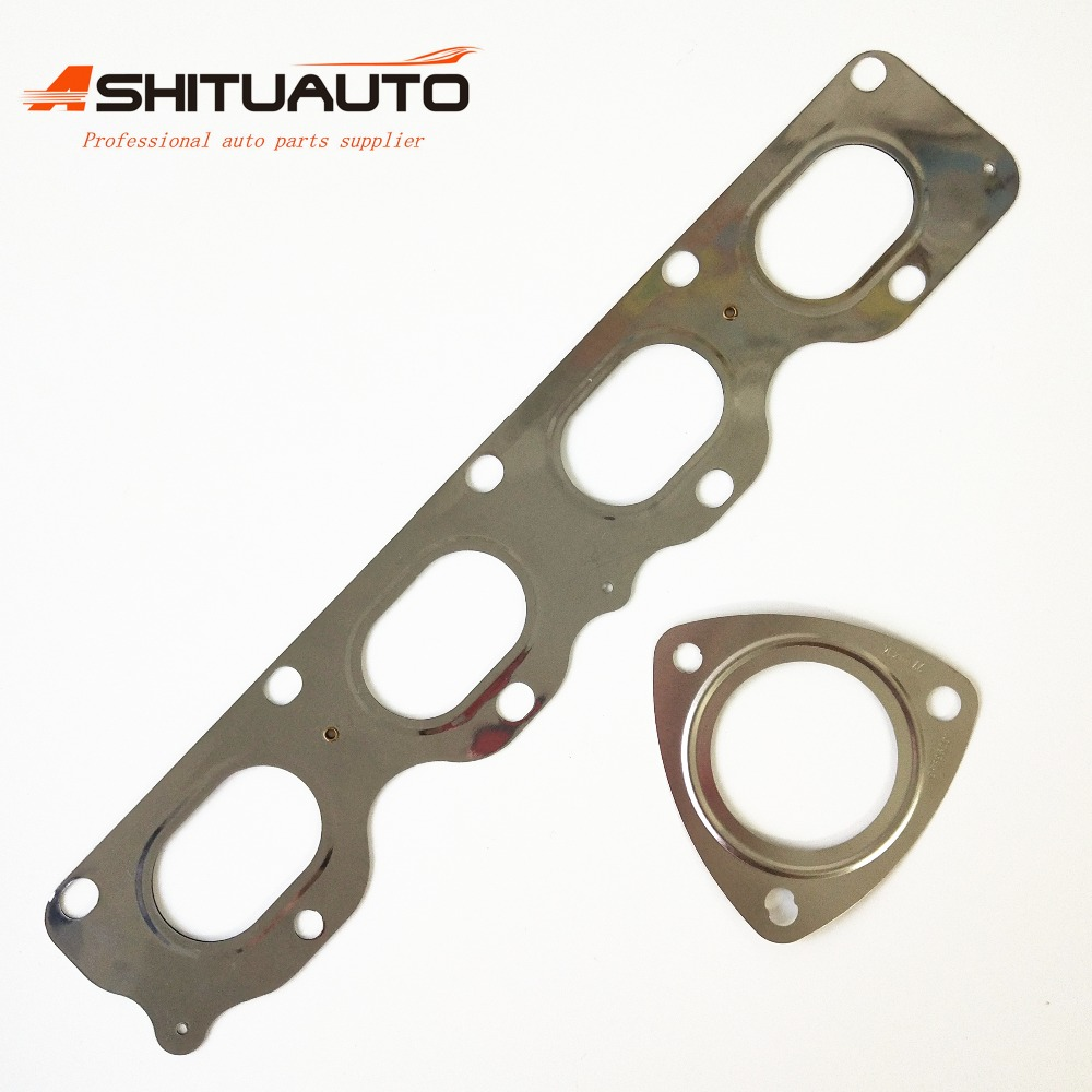 Engine Front Exhaust Pipe Gasket Exhaust Manifold Rebuild Kits For CHEVROLET Cruze Sonic Orlando OPEL Astra 12992396 13293986