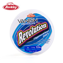 Berkley VANISH Revolution 150M Fluorocarbon Fishing Lines 2.5-14LB Super Strong Leader Line Clear Resistance Carp Fishing Tackle