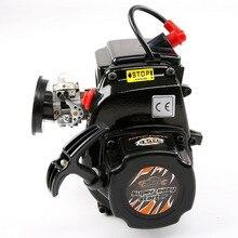 ROVAN 45CC 2-х тактный бензиновый двигатель с Walbro 1107 карбюратор и NGK Свеча зажигания для LOSI ROVAN KM MCD DTT 1:5 бензин RC автомобиль