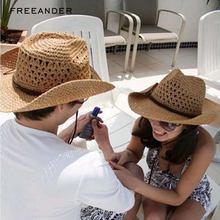 Женская соломенная шляпа в стиле ретро freeander Панама для