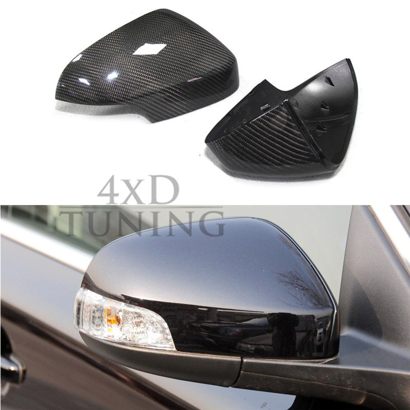 1:1 Replacement Style For Volvo S80 Carbon Fiber Rear View Mirror Cover 2006 2007 2008 2009 2010 2011