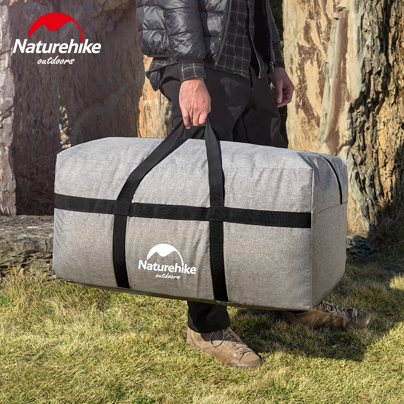 Naturehike 100L Portable Men Women Travel Bag Ultralight Extra Large Duffle  Bag Outdoor Durable Bags Folding ea4abe1572dc7