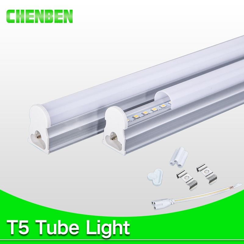 PVC LED Tube T5 Integrated Light 220V 240V 300mm 5W 600mm 1ft 2ft 9W T5 LED Tube Wall Lamps Cold Warm White T5 Light 8W rayway led tube t5 lights bulbac 85 265v 30cm 5w 1ft leds fluorescent lamp led wall lamps bulbs light pvc plastic 5pcs