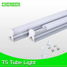 Integrated LED Tube T5 Light 220V 240V 300mm 600mm 1ft 2ft 9W 8W Tube Wall Lamps Cold Warm White for Home Kitchen indoor Lights(China)