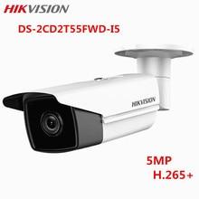 Hikvision 5MP IP PoE CCTV Camera DS-2CD2T55FWD-I5 IR Onvif H.265 1080P WDR Outdoor Night version Surveillance Bullet Camera