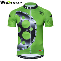 WEIMOSTAR Team Sports Outdoor Cycling Jersey Spring Summer Bike Bicycle Short Sleeves MTB Clothing Shirts Wear Bike Jersey