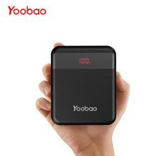 лучшая цена Yoobao M4Q 10000mAh Quick Charge 3.0 Power Bank External Portable Charger Battery LED Flashlight 9V/2A Input