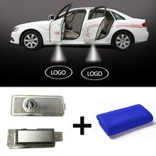 Беспроводной двери автомобиля свет автомобиль логотип светодиодный лазерный проектор Modifie Авто Добро пожаловать лампа проектора для Mercedes Benz CLS CLA c207