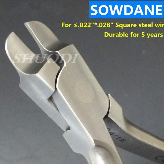 Alicates rectangulares de Tweed ortodontico Dental que forman el arco que forman El alicate del Torquring del instrumento que forma el Edgewise (grosor 1,5mm)