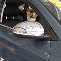 Для Hyundai Tucson 2015-2018 ABS хромированное крыло боковое зеркало заднего вида накладка автомобильный Стайлинг 2016 2017