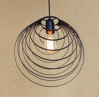 Scandinavian Designer Pendant Light RH LOFT Industrial Art Decor Lamp Dining Room Den Bedside Bar Iron