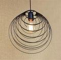 Designer escandinavo Industrial Luz Pingente Art Decor Den de Cabeceira Da Lâmpada Sala de Jantar Bar Ferro Italiano luz Pingente Lâmpadas