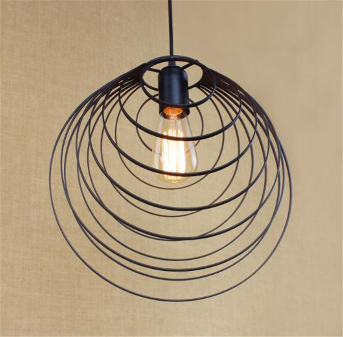 luz de techo de diseo escandinavo industrial art decor lmpara de la mesita de comedor den