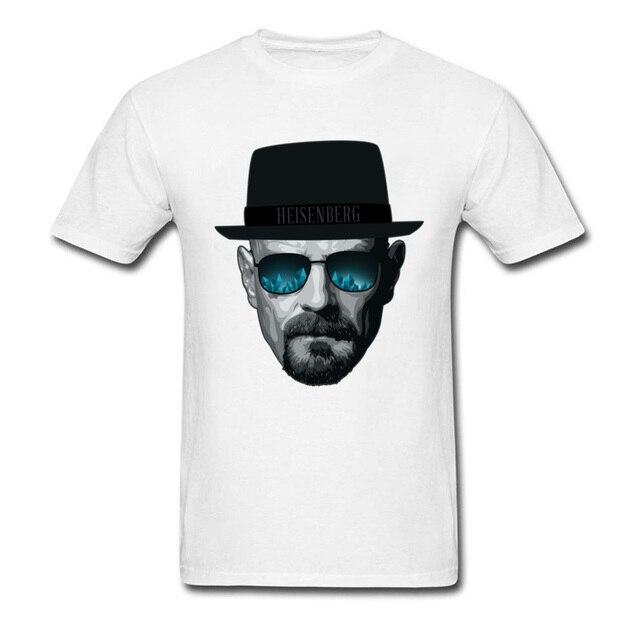 Breaking Bad Men T Shirt Im The One Who Knocks 2018 Fashion Heisenberg Black  Hat Hipster 80s T-shirt Cotton Tshirt 01304843395