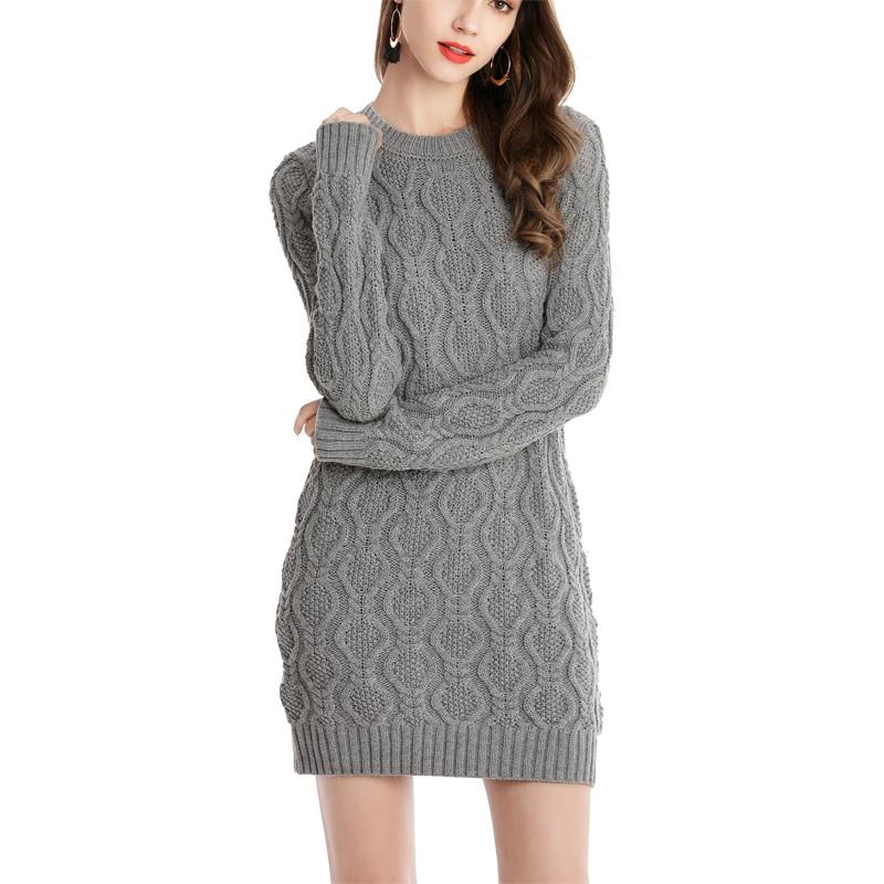 winter dress grey