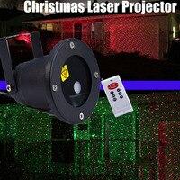 クリスマスレーザープロジェクター屋外ガーデンスターライトip65防水irリモート制御ショーレッドグリーンレーザーライトrg dec
