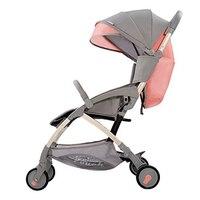 Мешок 6,8 кг легкий Портативный Детские коляски для трон, позволен в самолет коляски, может сидеть и лежат Детские Коляски Baby Buggys