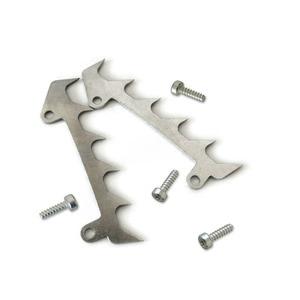 Image 4 - 2 peças de corte pára choques spike + parafusos para stihl 017 018 021 023 025 ms170 ms180 ms210 ms230 ms250 peças reposição ferramentas para trabalhar madeira