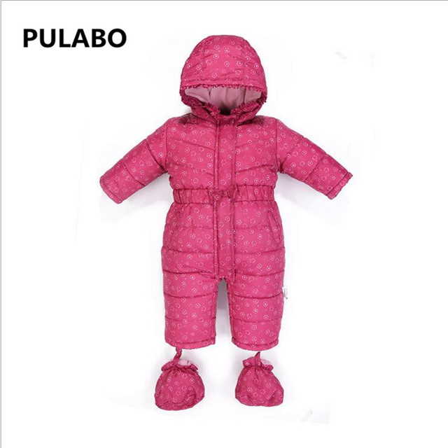 705c4f6cb High Quality Baby Rompers Winter Thick Cotton Boys Costume Girls ...