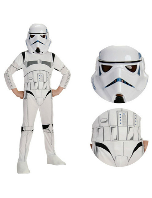 Boy Child Stormtrooper Costume Space Station Superhero Astronaut Costumes Printed kids Jumpsuit Holiday Cosplay Clothing new  sc 1 st  AliExpress.com & Boy Child Stormtrooper Costume Space Station Superhero Astronaut ...