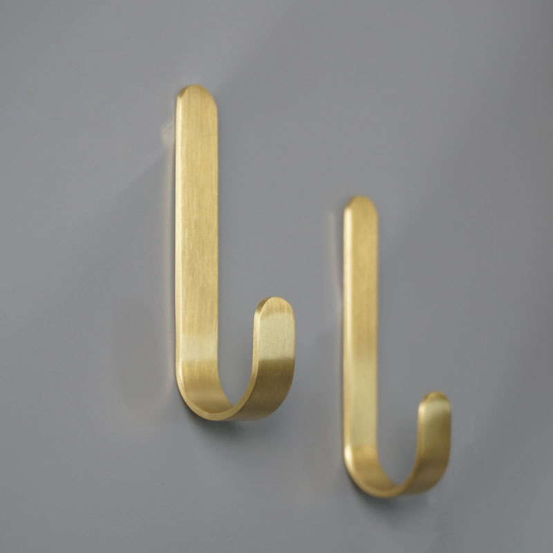 Copper Hook For Bathroom Hook Wall Cloth Hooks Cabinet Handles Furniture Harware