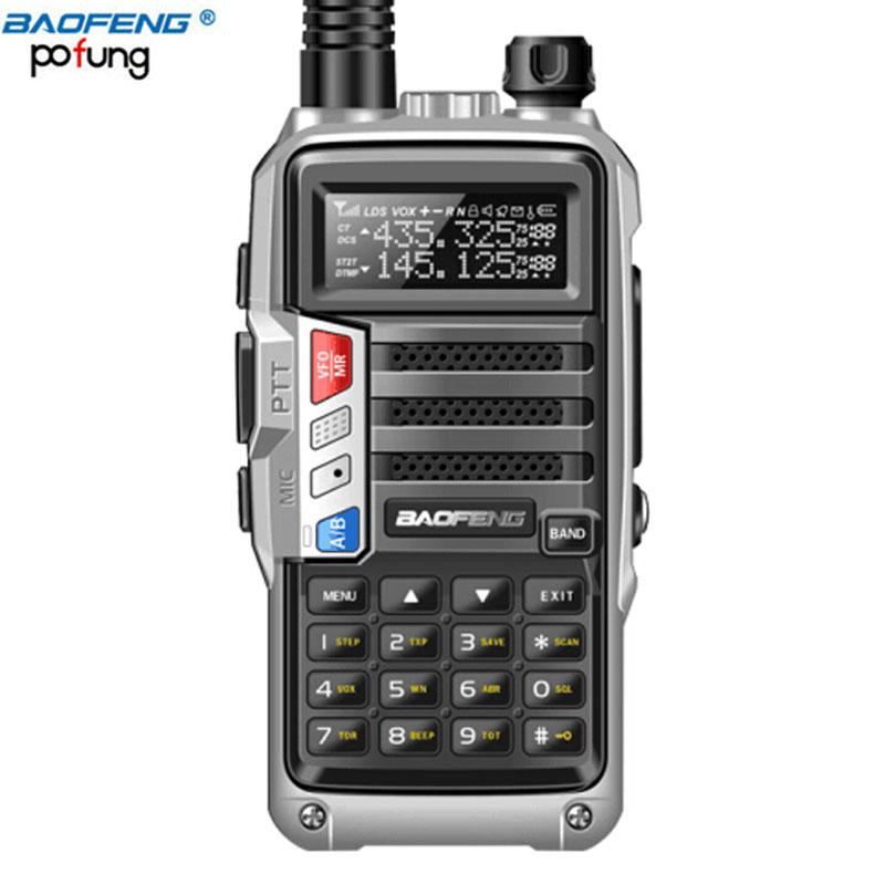 2018 BAOFENG UV-S9 8 W Haute Puissance VHF/UHF136-174Mhz & 400-520 Mhz Double Bande 10 KM Long gamme Thickenbattery Talkie Walkie CB Radio