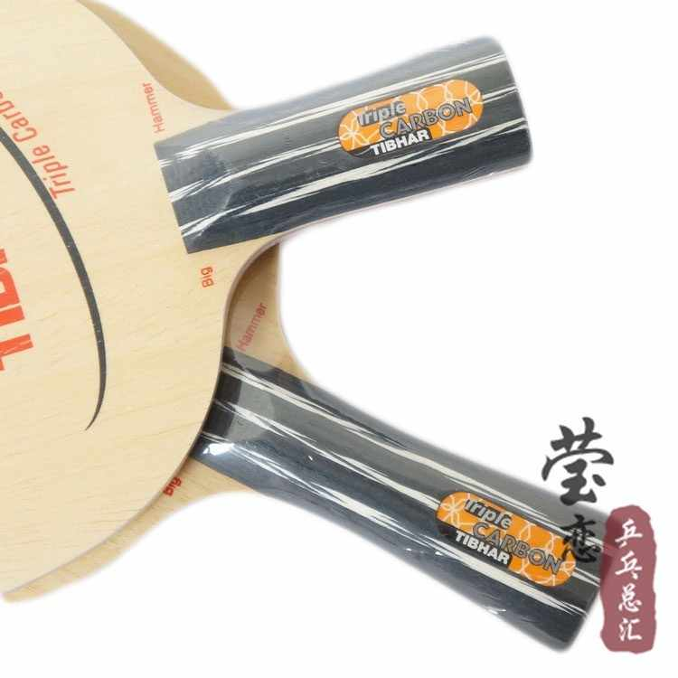 Original Tibhar Triple Carbon table tennis blade table tennis rackets racquet sports fast attack with loop carbon blade