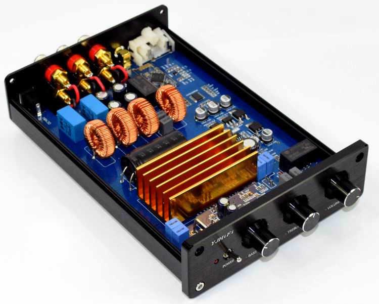 150 Вт * 2 + 300 Вт TPA3255 + CSR64215 + PCM5100 + Bluetooth IIS 2,1 класс D аудио; цифровой усилитель независимый DAC декодирование