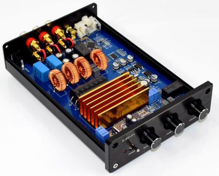цена 150W*2 +300W TPA3255 + CSR64215 + PCM5100 + Bluetooth IIS 2.1 Class D audio Digital Amplifier Independent DAC decoding