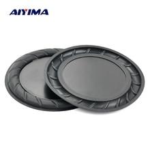 Aiyima 2 قطعة 90 ملليمتر 64 ملليمتر المطاط السلبي المبرد المتكلم باس الاهتزاز غشاء المساعدة مضخم الصوت DIY