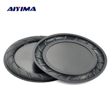 Aiyima 2PC 90MM 64MM Rubber Passive Radiator Speaker Bass Vibration Membrane Diaphragm Auxiliary Subwoofer DIY