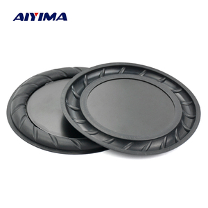 Image 1 - Aiyima 2PC 90MM 64MM Rubber Passive Radiator Speaker Bass Vibration Membrane Diaphragm Auxiliary Subwoofer DIY