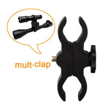 New Mult Clamp Mount Clip Holder For Torch Flashlight Rifle Scope Sight Laser(China)