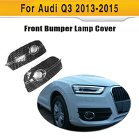 ABS Q3 To RSQ3 Styling Car Front Lamps Cover For Audi Auto Lamp Lid Fit For