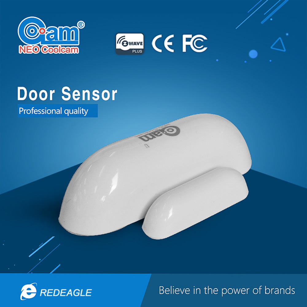 Coolcam Smart Z-wave Sensor Wireless Door Window Sensor Compatible with Z Wave 300 series 500 series Home Automation System wireless doorbell z wave siren alarm sensor compatible with z wave 500 series 300 series z wave home automation system