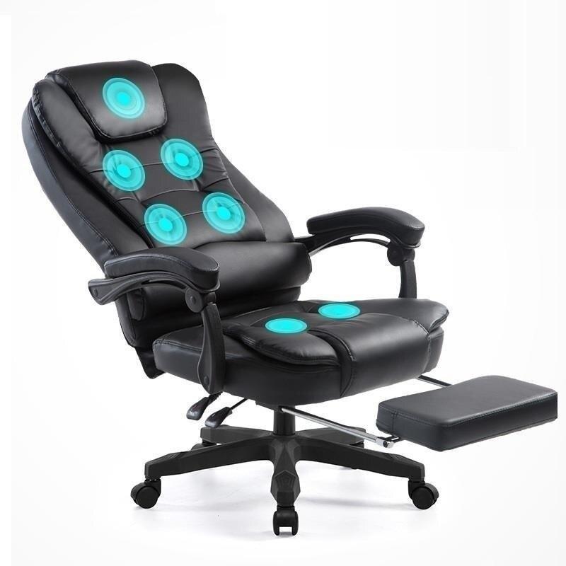 Fauteuil Fotel Biurowy patron De Massage Sedia Bureau Meuble Escritorio Gamer En Cuir Cadeira Silla Gaming Poltrona chaise d'ordinateur