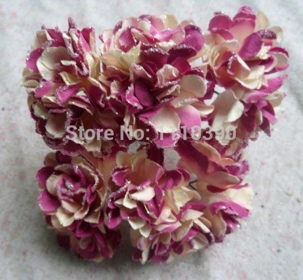 3CM artificial flower bouquets,tissue paper flowers mini roses for ...