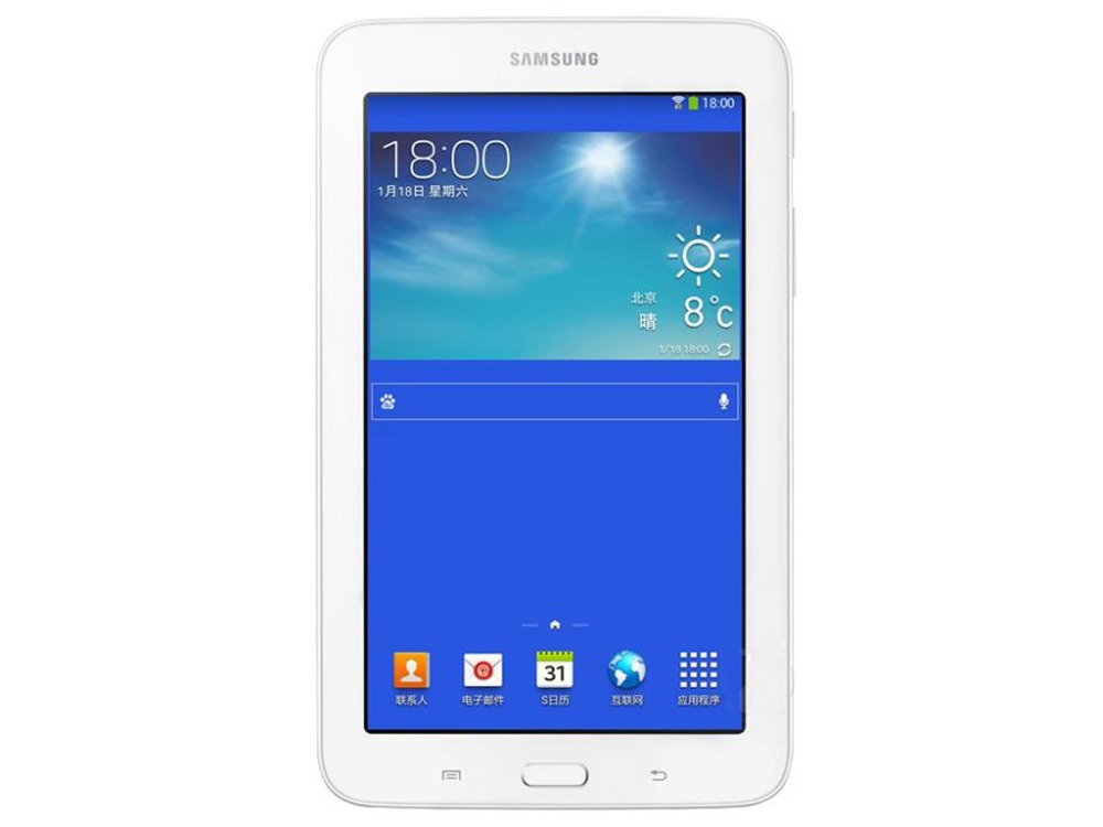цена на Samsung Galaxy Tab 3 Lite 7.0 inch T111 3G+WIFI Tablet PC 1GB RAM 8GB ROM Dual-core 3600 mAh 2MP Camera Android Tablet