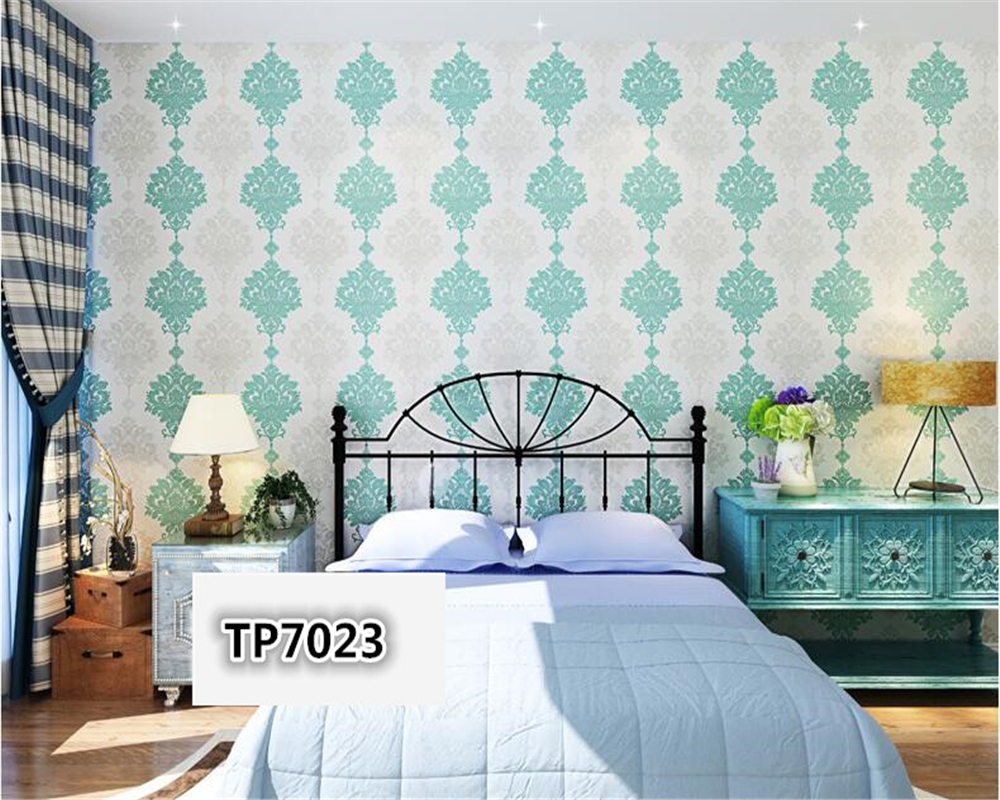 beibehang Scandinavian style non-woven flower 3D wallpaper modern living room bedroom study background wall full of 3d wallpaper beibehang pressure 3d non woven wallpaper luxury european style living room wallpaper background wallpaper