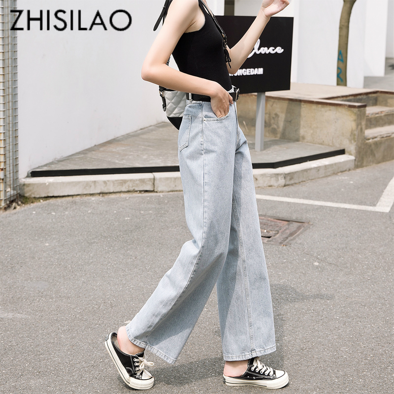Fashion   Jeans   Women Plus Size Vintage Boyfriends   Jeans   Maxi Straight   Jeans   Mujer Loose Wide Leg   Jeans   Retro 2019 Denim Pants