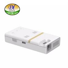 Todos Ganan A380 Inteligente Android Wifi Pantalla Táctil Proyector LED DLP HD Proyector Portátil Batería Incorporada Altavoz HDMI Proyector