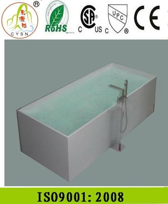 concrete bathtub bath tub 1400-in Bathtubs & Whirlpools from Home ...