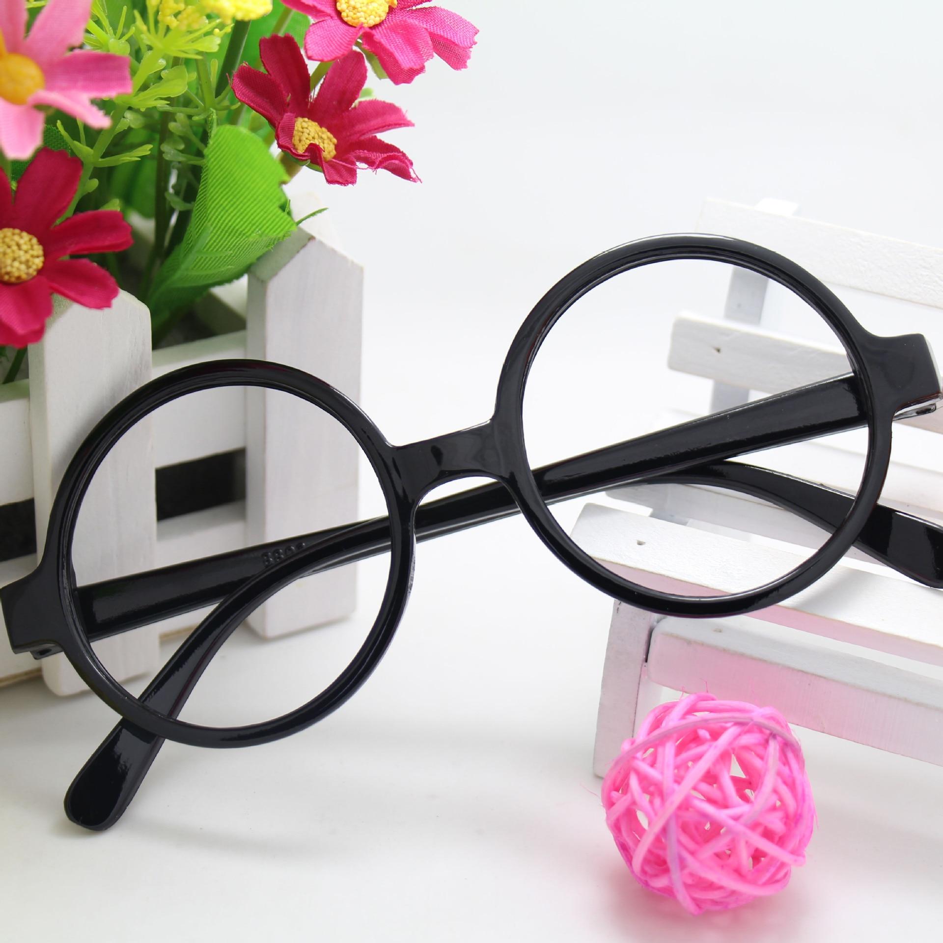ᗖ2017hot Harry Potter Rush TIDE ronda niños Gafas marcos unisex ...