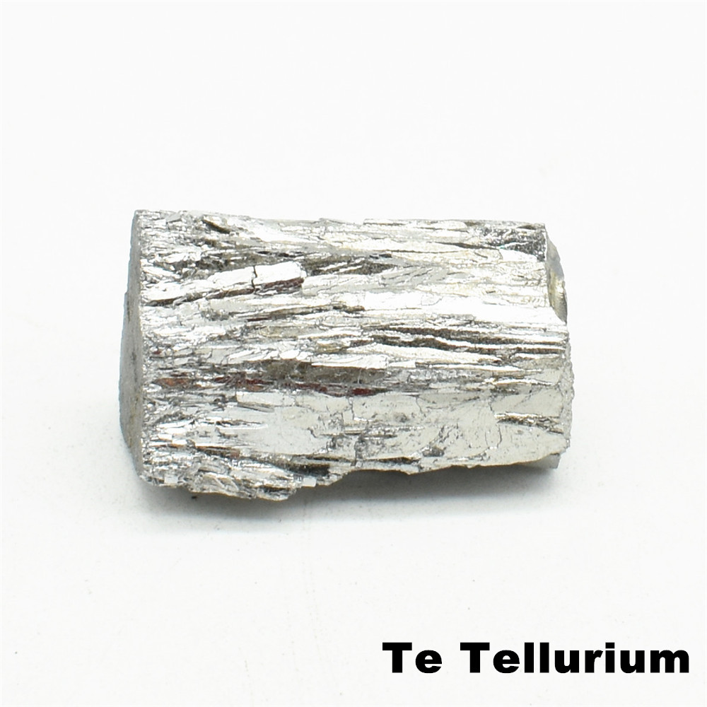 99.999% Tellurium Ingot Powder High Purity Te Metal 4N For Experiment DIY Simple Substance Element Collection