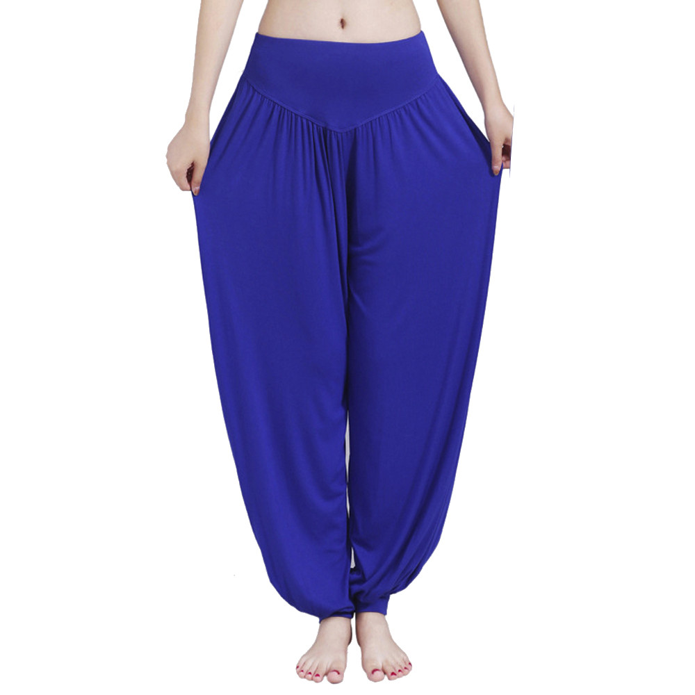 Womail Brand Drop Shipping Tights 2018 Women High Waist Yoga Fitness Harem Pants Trousers Wide Leg Bloomers Plus Size