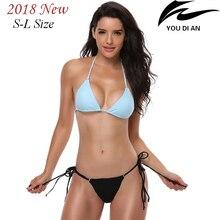 2018 sexy women bikini low waist swimsuit swim suit female swimwear bathing beach suit