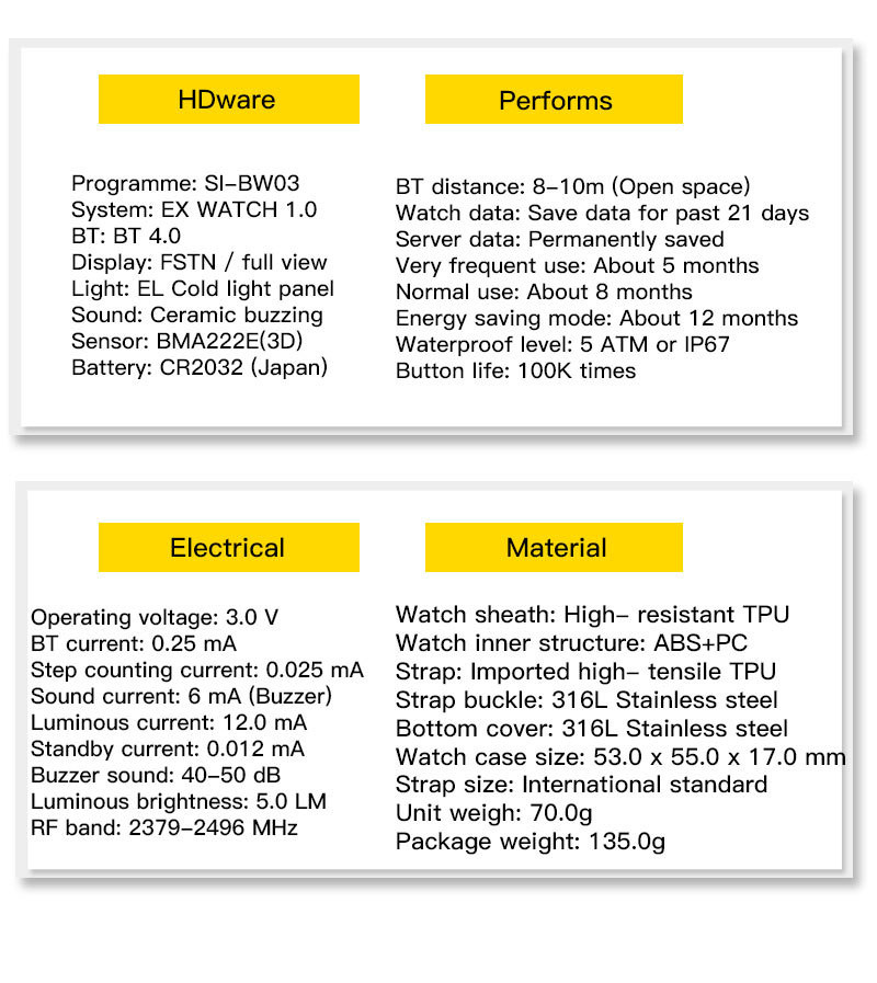 Smartwatch Multifunction Waterproof Smart Watch Men (1)